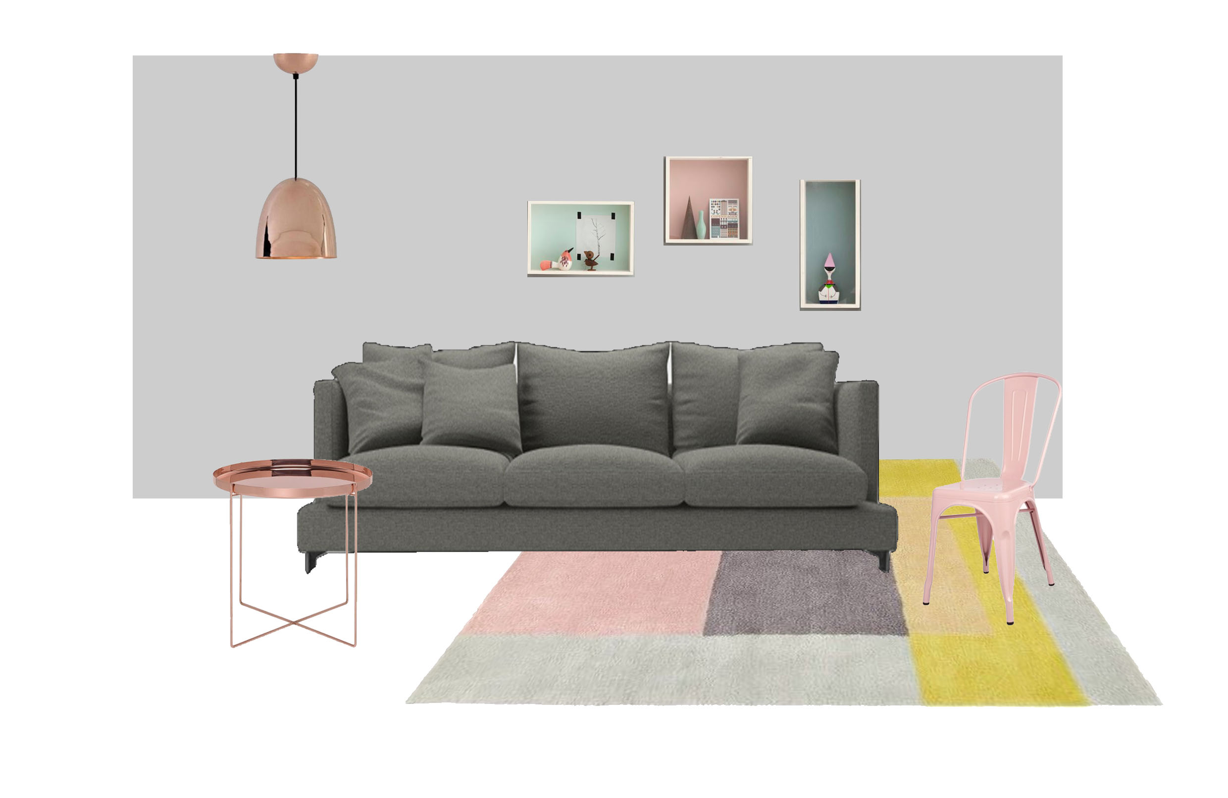 Lazytime plus sofa camerich - If You Re Not Fond Of White How About Going For Some Lighter Grey Walls With Pastels Rather Than Monotone Here You Ve Got A Bit More Freedom With Colours