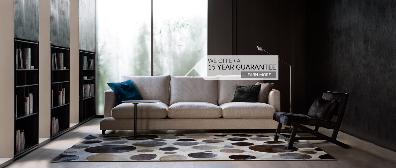 We offer a 15 year guarantee