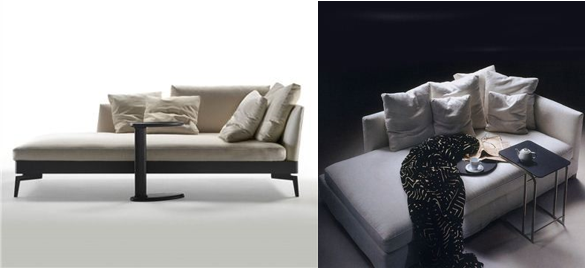 Rest and recuperation modern designer furniture and sofas for Cat chaise lounge uk