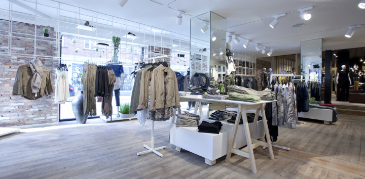 Camerich In A Retail Environment Modern Designer