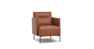 The Ease Lounge Chair provides support and comfort as well as undeniable style
