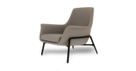 The Noble Chair offers a comfortable stylish lounge chair which is encased within a modern dark steel frame.