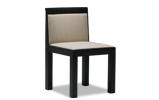 Reminiscent of classic design in form combined with the cutting edge minimalism of contemporary style, the Goth contemporary chair adds a refined elegance to the dining room