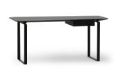 The Verge desk is contemporary furniture with a spectacularly sleek look and a distinguished character.
