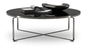 A Flex designer table brings simple elegance to any room as a contemporary side table, console, or nesting coffee tables.