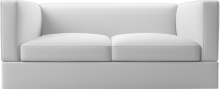 Living contemporary two seat sofa