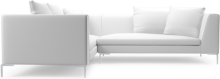 Alison modern closed corner sofa