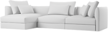 Prices from £2,760 next day delivery available. The Era sofa is a modern take on a high backed modular sofa. Curved armrests and exceptionally plump cushions make Era one of our softest and most opulent styles.