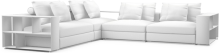 Prices from £3,100 next day delivery available. The Freetown sofa range is our most modular yet, with infinite possible configurations ranging from compact two-seat sofas to large and luxurious U-shape formations.