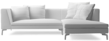 Prices from £2,228 next day delivery available. Alison Plus sofa pieces are sectional so can be combined in a number of ways depending on the dimensions of your space.