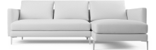 Prices from £2,768. This simplistic and modern sofa is the perfect choice for both modern city living and simplistic interiors alike. Available for immediate delivery
