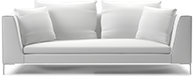 Prices from �1,537 next day delivery available. The Alison modern sofa comprises beautifully tapered arms, elegant chrome legs and linear styling to bring you a timeless piece of modern designer furniture.