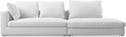 Prices from �3,101 next day delivery available. The Clouds modern sofa evokes ultimate comfort mixed with contemporary design, establishing an informal but sleek visual.