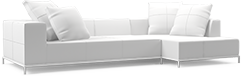 The Balance contemporary sofa design speaks of sophistication and modern grace.