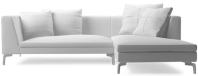 Prices from �2,181 next day delivery available. The Alison Plus modern sofa range comprises beautifully tapered arms, elegant chrome legs and linear styling to bring you a timeless piece of modern designer furniture.