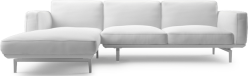 The Jane Corner contemporary sofa evokes images of the most modernistic interior spaces.