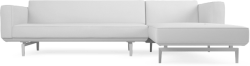 Prices from �2,718 next day delivery available. The Jane Slim Corner contemporary sofa is perfect for those seeking fine modern design when space is at a premium.