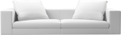 Prices from �1,925 next day delivery available The Casa contemporary sofa is so fashionably modern, stuffed with the finest down feathers and low to the ground, it is the first word in relaxed elegance.