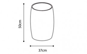 Tall Drum Coffee Table dimensions