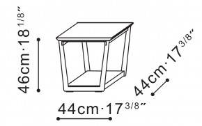Element Side / Bedside Table dimensions