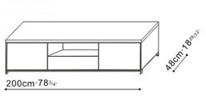 Max TV Stand / Storage Unit dimensions