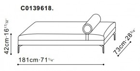 Alison Plus Day Bed dimensions