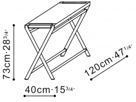 Ex Console Table dimensions