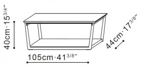 Long Element Coffee / Side Table dimensions
