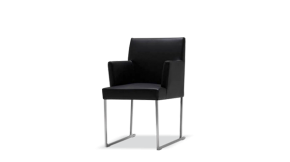 Edge Dining Chair with Armrest