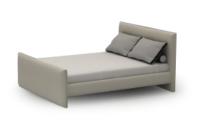 Era Plus Bed 153 x 203cm