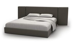 Screen Bed 180 x 200cm with Panels