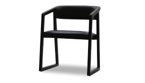 Ming Dining Chair with Armrests