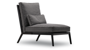 Arc High Backed Lounge Chair