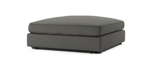 Clouds Small Ottoman