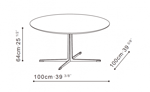 Vary Bistro Table dimensions