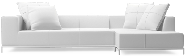 Balance contemporary small corner sofa